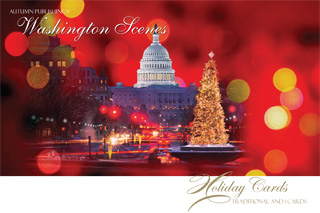 Washington DC Holiday Cards