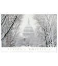 US Capitol Greeting card Winter's day