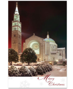 National Shrine of the Immaculate Conception Christmas Card
