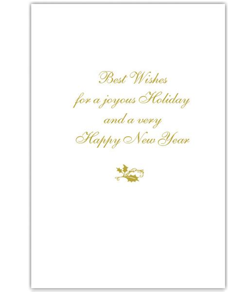 GoldSHELLYvert Envelope US Supreme Court Holiday Greeting Cards
