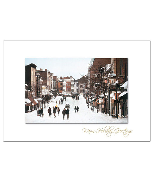 Winter in Georgetown holiday card. Photograph by Fred J. Maroon