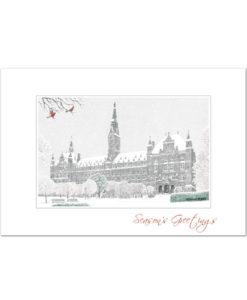 Georgetown University holiday greeting cards