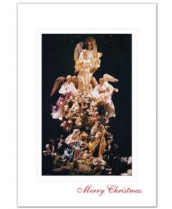 White House Creche Christmas Card