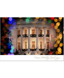 Holiday Lights at the White House - Holiday Greeting Cards