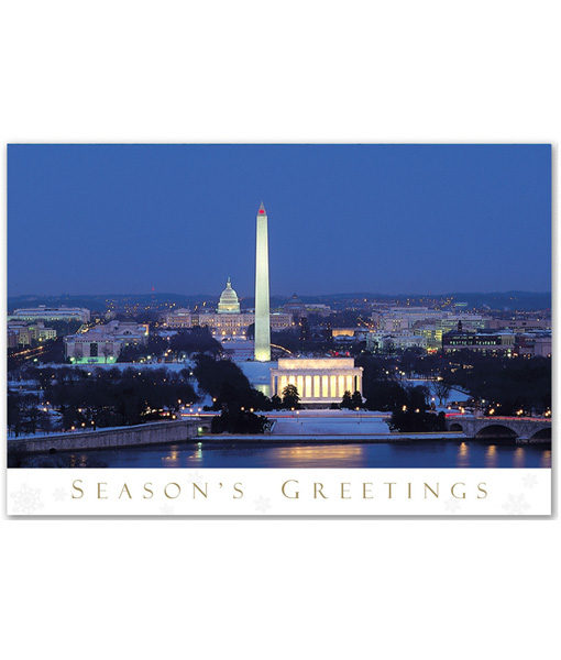 Washington DC holiday card