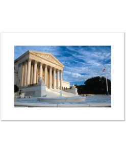 US Supreme Court blank card
