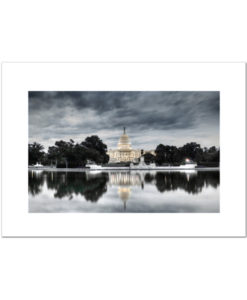 US Capitol at Dawn blank card