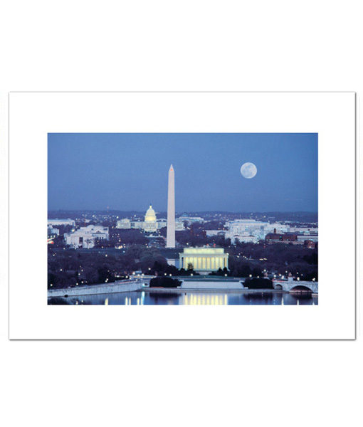 DC Skyline blank card