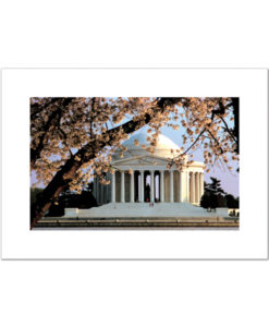 Jefferson Memorial blank card