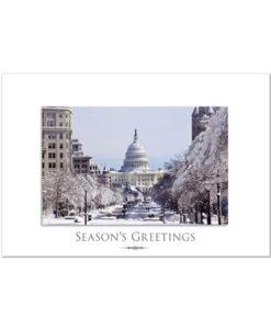 Pennsylvania Avenue Holiday Greeting Card