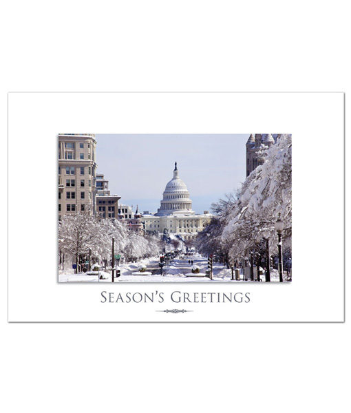 Pennsylvania Avenue Holiday Greeting Card