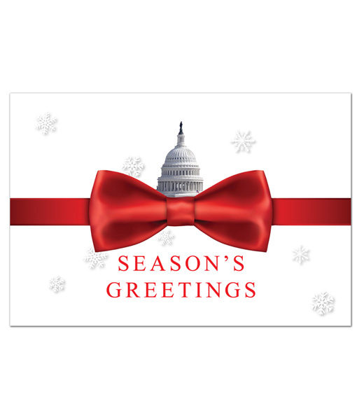 Washington Holiday Greeting Card