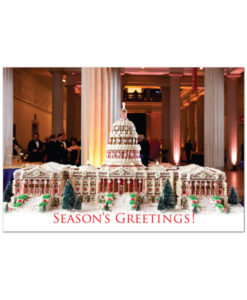 U.S. Capitol in gingerbread