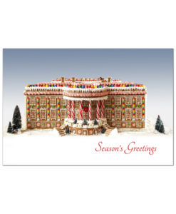 White House in Gingerbread