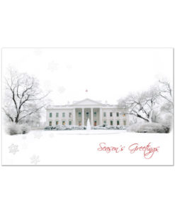 White House holiday greeting card