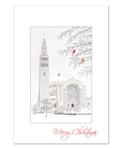 Shrine of the Immaculate Conception Christmas card