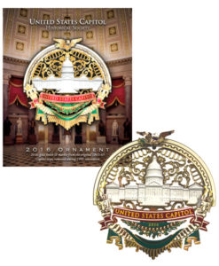 US Capitol Holiday Ornament for 2016