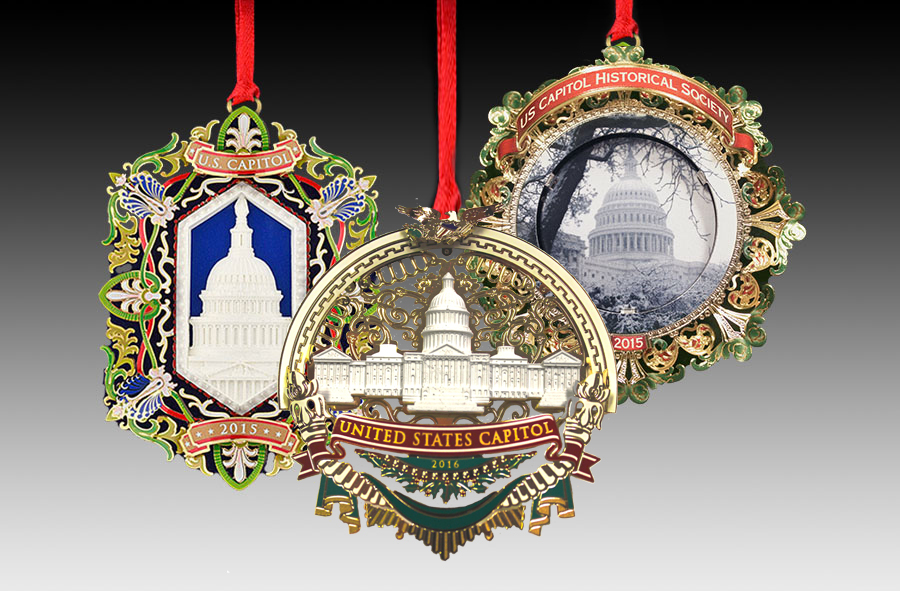 US Capitol Holiday Ornaments