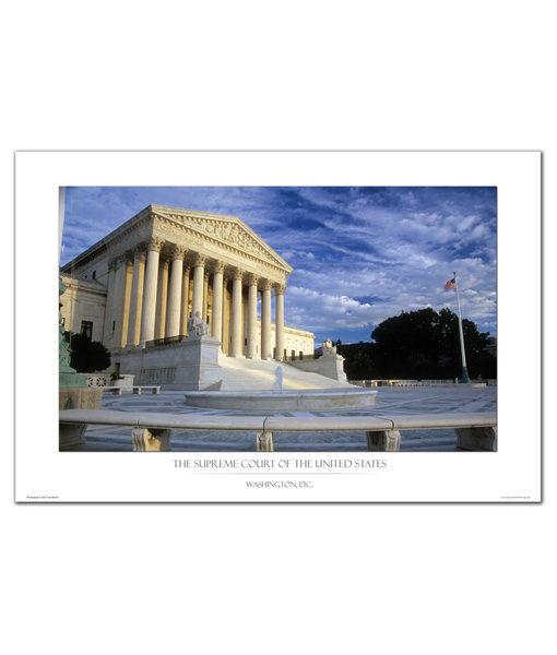 US Supreme Court Print Day