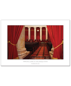 US Supreme Court Interior Bench