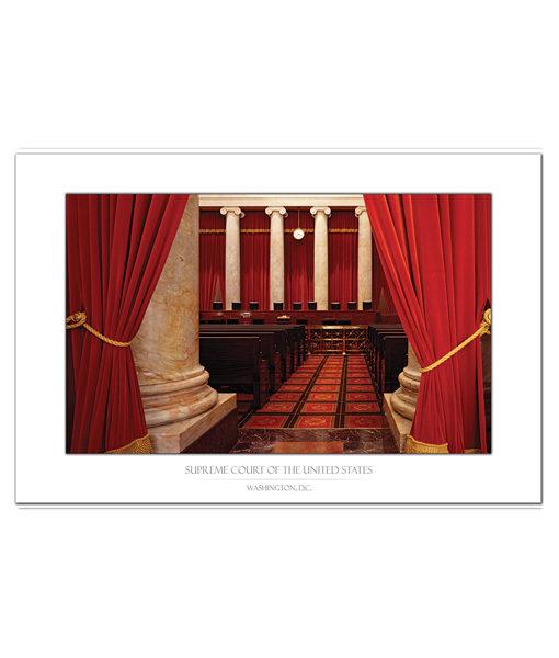 US Supreme Court Interior Bench