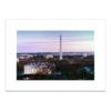 Washington DC at Dusk blank card