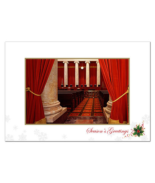 US Supreme Court Holiday Card