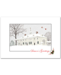 Mount Vernon Holiday Card