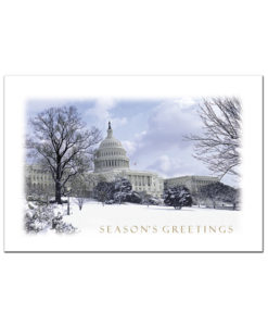 US Capitol Holiday Greeting Card