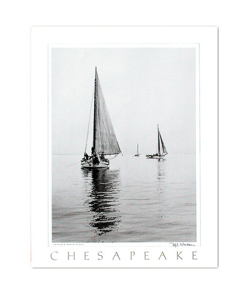 Chesapeake Bay Skipjack print