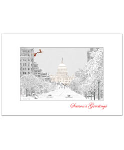 Pennsylvania Avenue holiday card