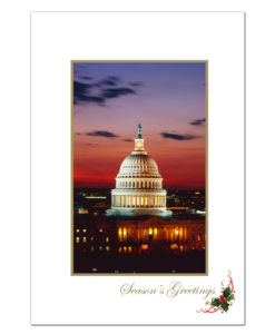 U.S. Capitol holiday greeting card