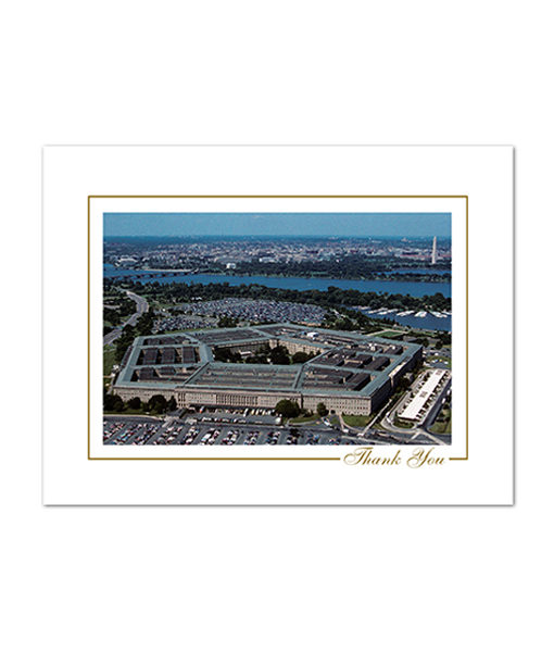 The Pentagon thank you note
