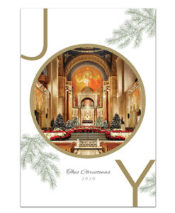 National Shrine holiday card