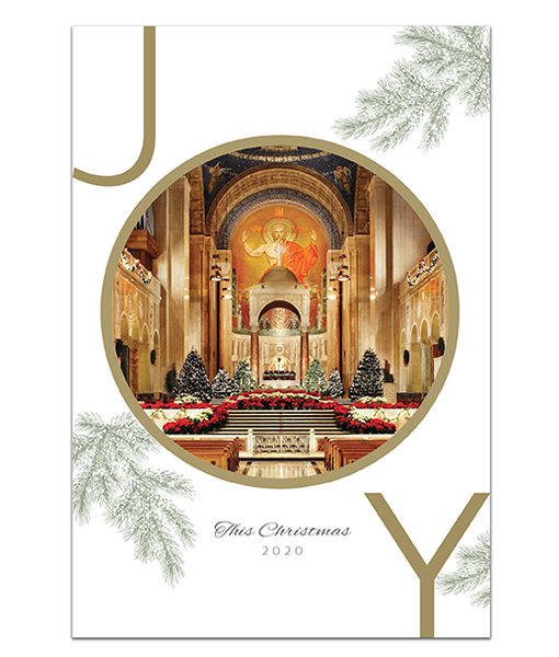 National Shrine holiday card